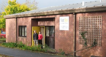 Natsol premises in Llanidloes