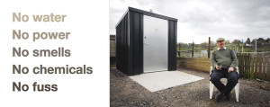 Waterless compost toilets for allotments, churches, campsites, fishing lakes and all sites without mains