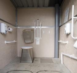 Allotment toilet