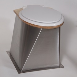urine separating compost toilet