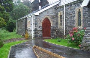 Abergynolwyn church compost toilet