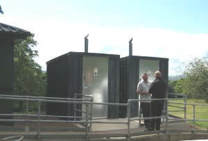 Bowling Park waterless eco toilets