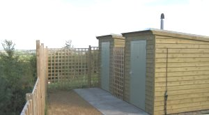 Beaudesert Farm eco toilets