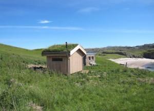 Natsol compost toilet on Handa island