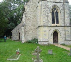 Dogmersfield church has a NatSol waterless toilet
