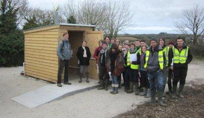 Gaia Trust compost toilet, Cornwall