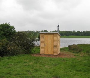 NatSol Composting toilet Blithfield Reservoir, Staffs