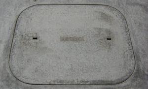 Compost toilet hatch