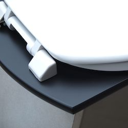 Urine separating stainless steel toilet pedestal