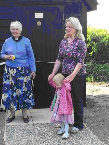 Opening of waterless toilet at St Gregory's, Thetford