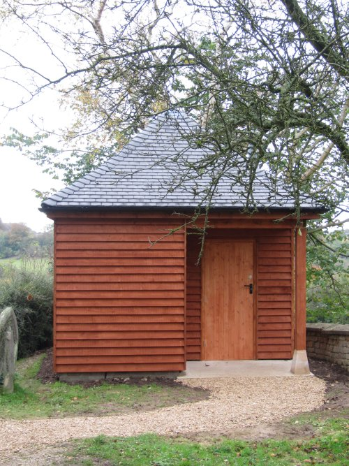 Compost toilet for St Bartholomew's Church