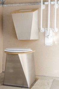 New stainless soak box and stainless steel toilet pedestal