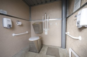 Interior showing new SS soak box
