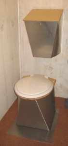 compact comport toilet