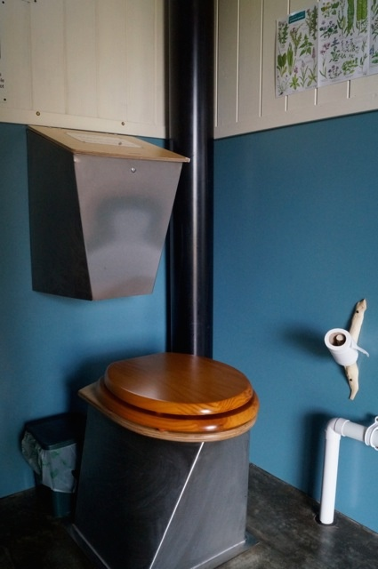 stainless steel compost toilet