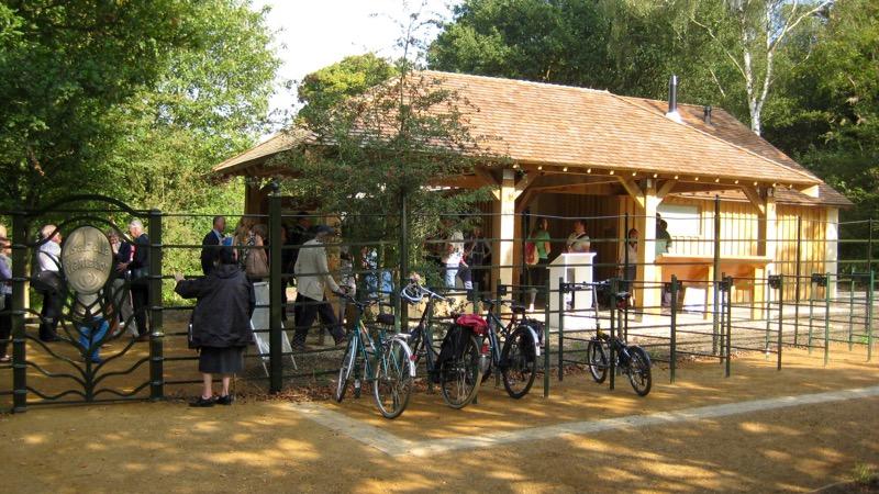 Richmond park waterless toilets