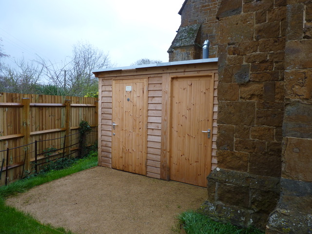 Compost toilet for St Peter's Church, Radway