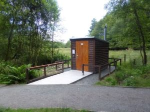 Compost toilet for Eskrigg Nature Reserve