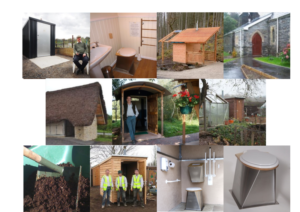 Some composting toilets supplied by NatSol. To see more choose a category under Examples.
