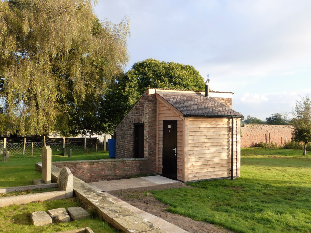 Lean to toilet building for All Saints Church, Thirsk