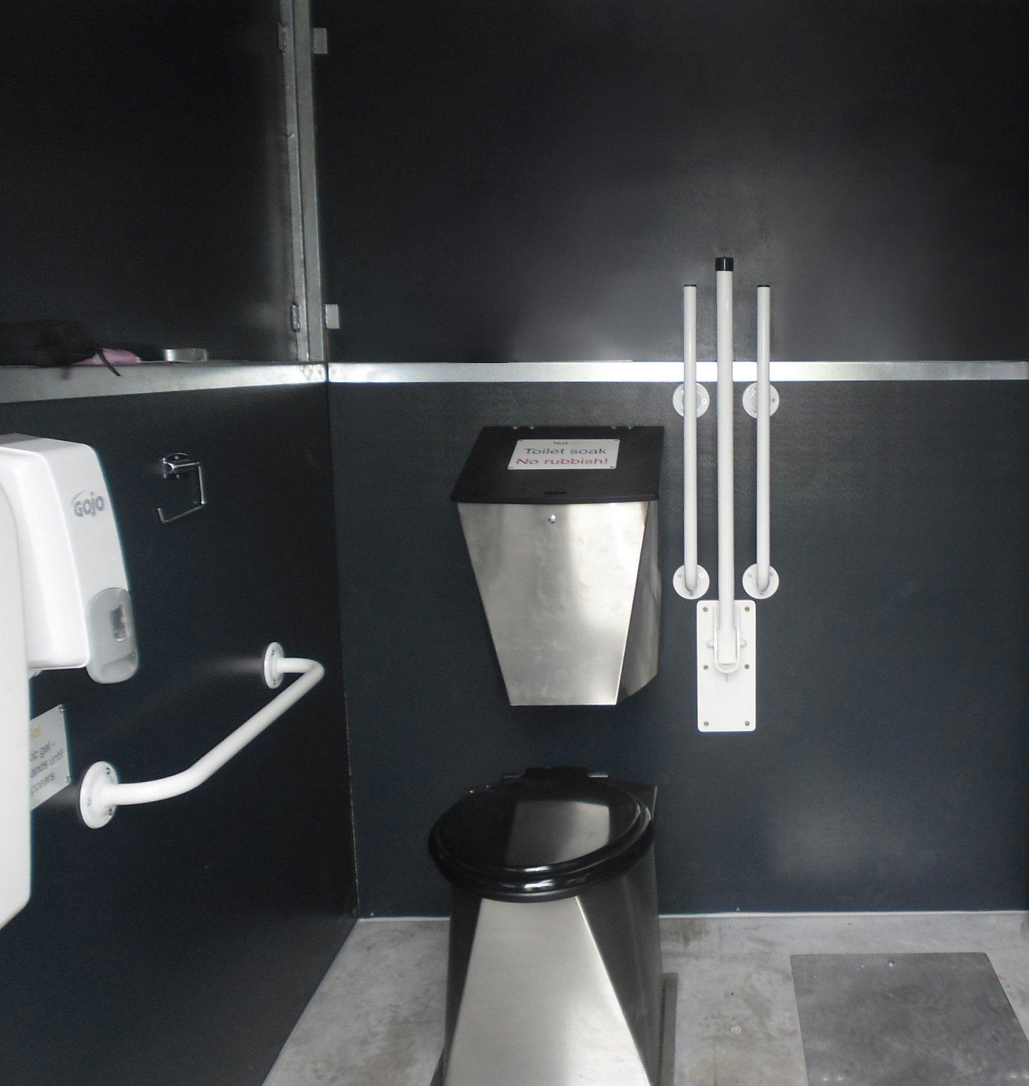 Taffs Wells toilet