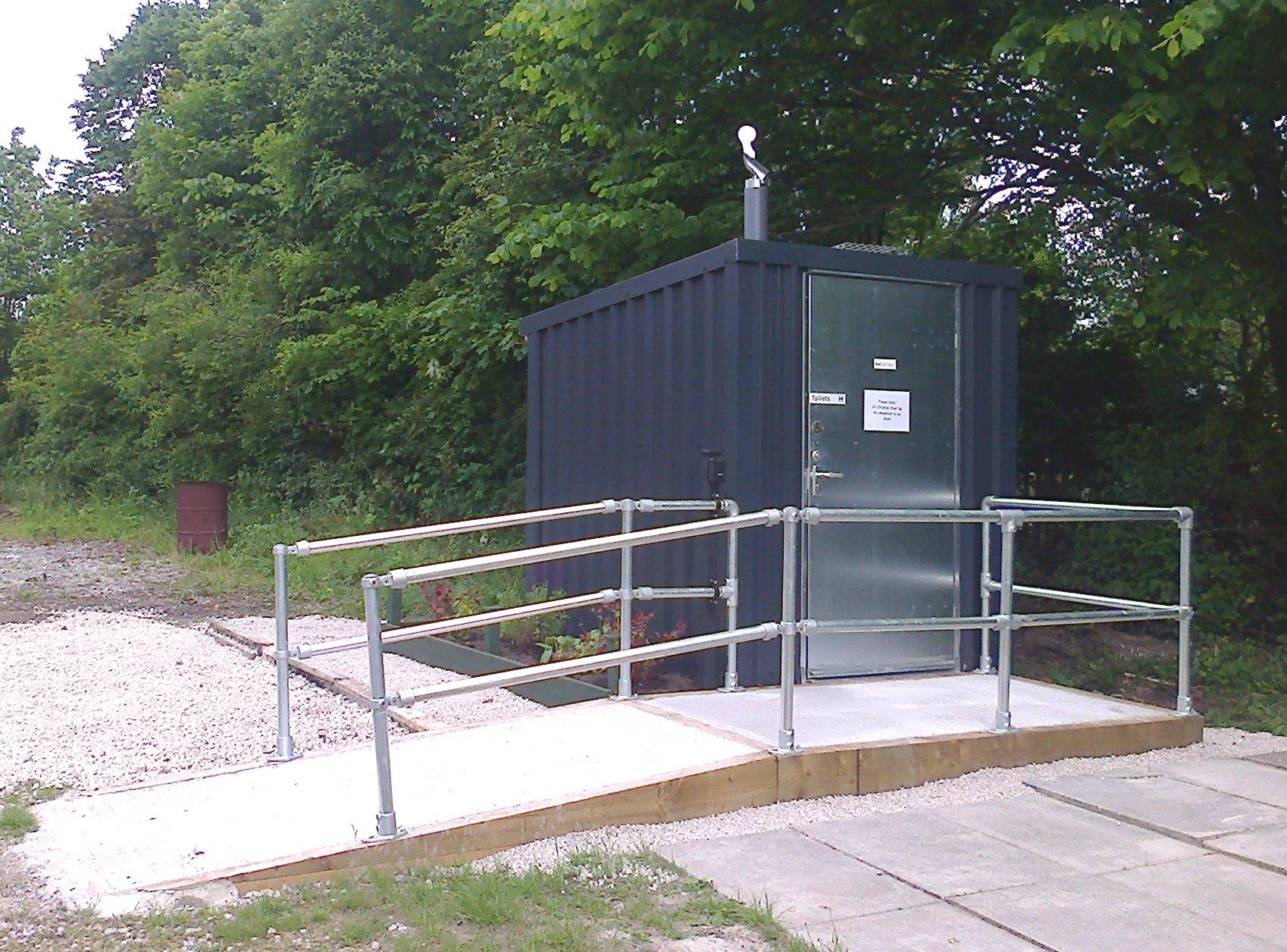 Bowring Park Allotment toilet