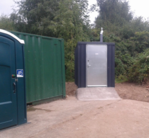 Full access toilet for Skylarks nature reserve