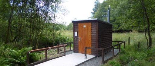 Composting toilet for Lockerbie Wildlife Trust