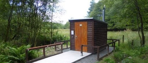 Composting toilet for Lockerbie Wildlife Trust