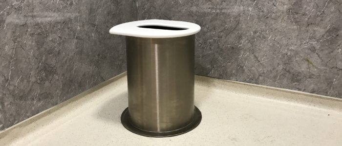 The NatSol Zero Discharge toilet pedestal