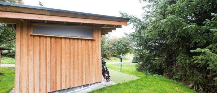 Mortonhall Golf Club waterless toilet