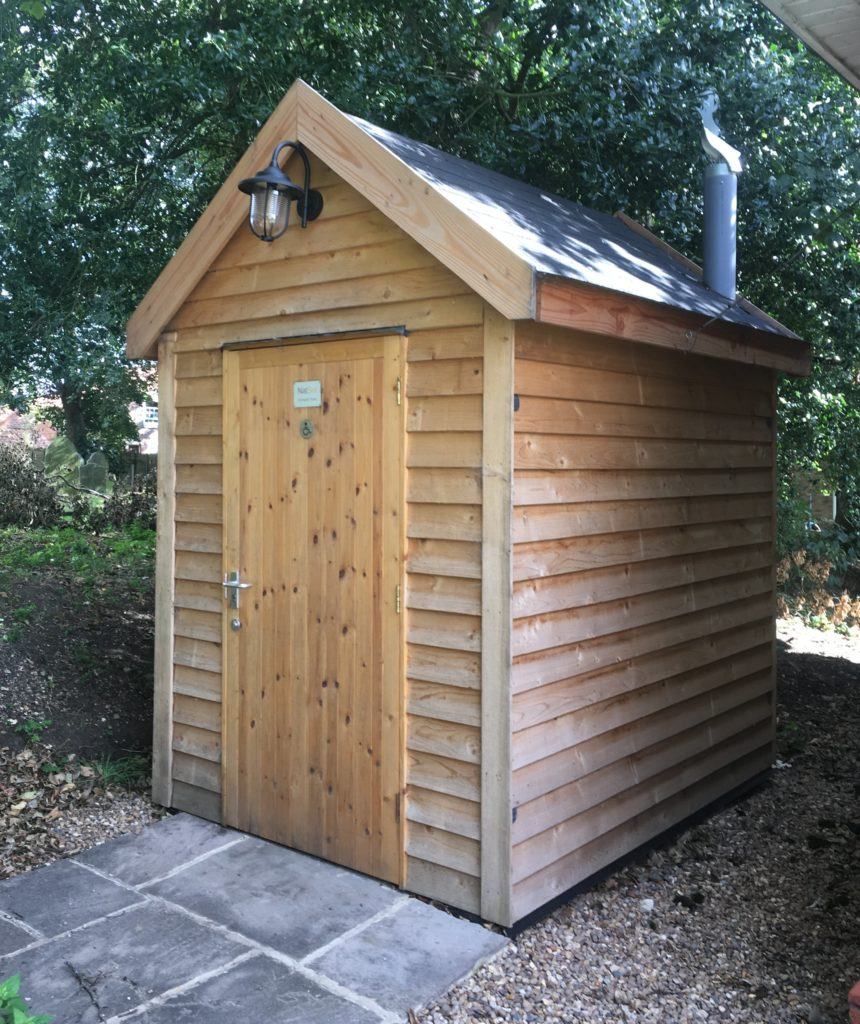 Toilet for All Saints Church, Cadney