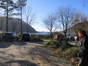 View of Wasdale from Lake Head car park