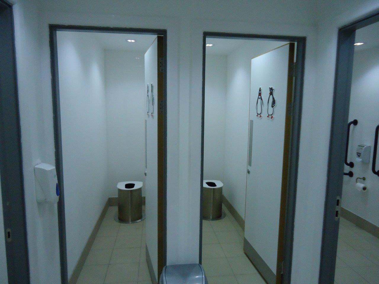 Zero Discharge toilets in the South Atlantic