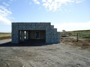 Toilet facility with NatSol Zero Discharge toilets on the Falkland Islands